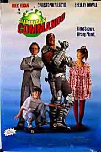 Random Movie Pick - Suburban Commando 1991 Poster