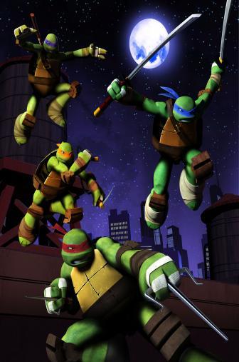 Random Movie Pick - Teenage Mutant Ninja Turtles 2012 Poster