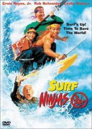 Random Movie Pick - Surf Ninjas 1993 Poster