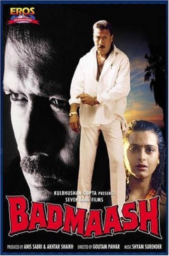 Random Movie Pick - Badmaash 1998 Poster