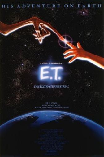 Random Movie Pick - E.T.: The Extra-Terrestrial 1982 Poster