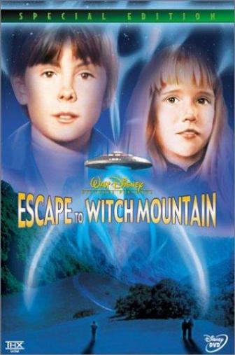 Random Movie Pick - Escape to Witch Mountain 1975 Poster