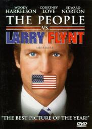 Random Movie Pick - The People vs. Larry Flynt 1996 Poster