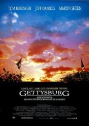 Random Movie Pick - Gettysburg 1993 Poster