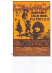 Random Movie Pick - Wild Horse Hank 1979 Poster