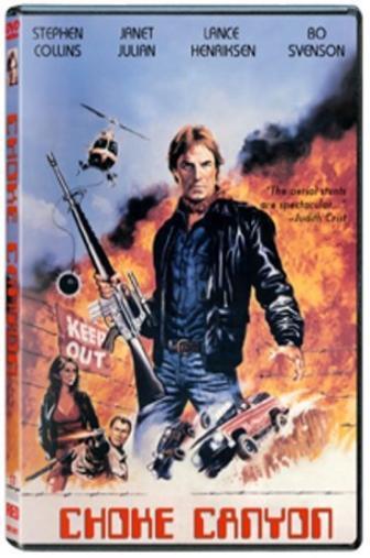 Random Movie Pick - Choke Canyon 1986 Poster