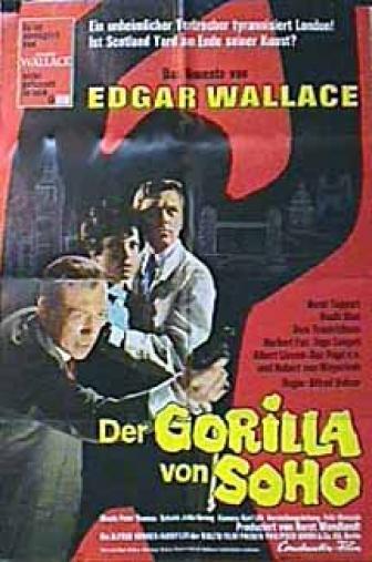 Random Movie Pick - Der Gorilla von Soho 1968 Poster
