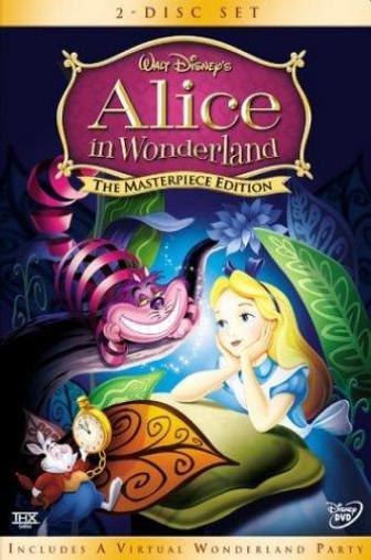 Random Movie Pick - Alice in Wonderland 1951 Poster