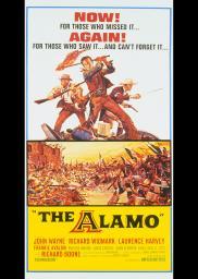 Random Movie Pick - The Alamo 1960 Poster