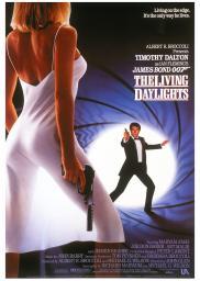 Random Movie Pick - The Living Daylights 1987 Poster