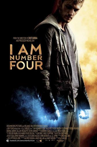 Random Movie Pick - I Am Number Four 2011 Poster