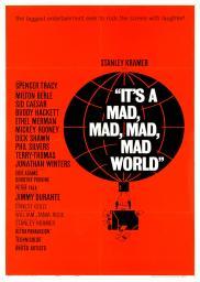 Random Movie Pick - It's a Mad Mad Mad Mad World 1963 Poster