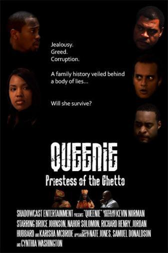 Random Movie Pick - Queenie: Priestess of the Ghetto 2011 Poster