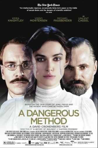 Random Movie Pick - A Dangerous Method 2011 Poster