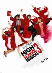 Random Movie Pick - High School Musical 3: Senior Year 2008 Poster
