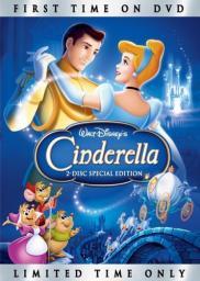 Random Movie Pick - Cinderella 1950 Poster