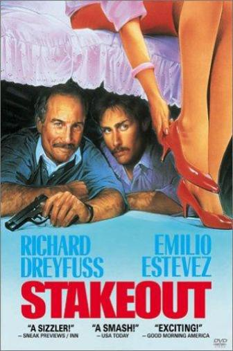 Random Movie Pick - Stakeout 1987 Poster