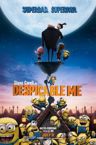 Random Movie Pick - Despicable Me 2010 Poster