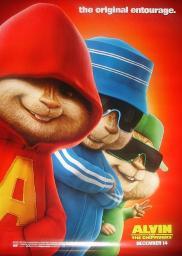 Random Movie Pick - Alvin and the Chipmunks 2007 Poster