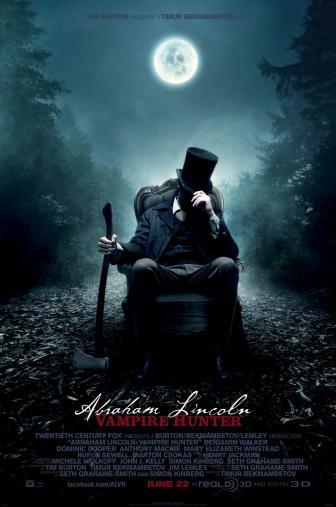 Random Movie Pick - Abraham Lincoln: Vampire Hunter 2012 Poster
