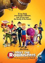 Random Movie Pick - Meet the Robinsons 2007 Poster