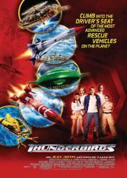 Random Movie Pick - Thunderbirds 2004 Poster