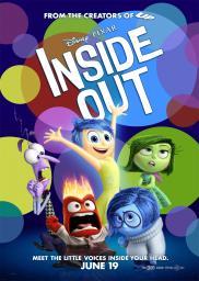 Random Movie Pick - Inside Out 2015 Poster