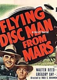 Random Movie Pick - Flying Disc Man from Mars 1950 Poster