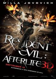 Random Movie Pick - Resident Evil: Afterlife 2010 Poster