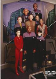 Random Movie Pick - Star Trek: Deep Space Nine 1993 Poster