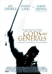 Random Movie Pick - Gods and Generals 2003 Poster