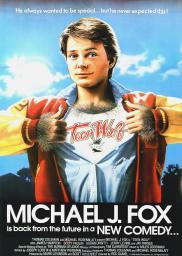 Random Movie Pick - Teen Wolf 1985 Poster