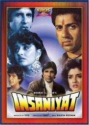Random Movie Pick - Insaniyat 1994 Poster