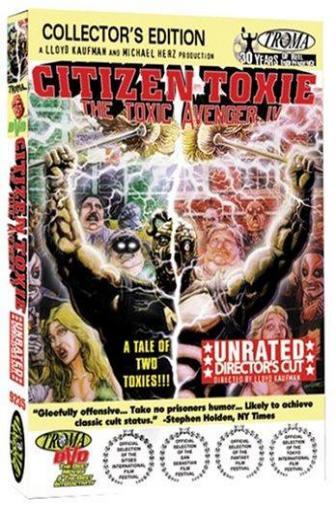 Random Movie Pick - Citizen Toxie: The Toxic Avenger IV 2000 Poster