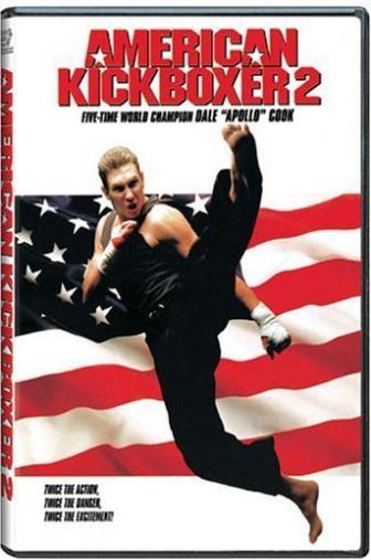 Random Movie Pick - American Kickboxer 2 1993 Poster