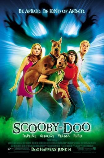 Random Movie Pick - Scooby-Doo 2002 Poster