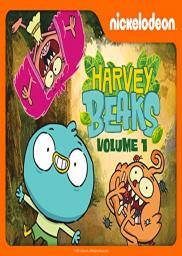 Random Movie Pick - Harvey Beaks 2015 Poster