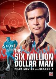 Random Movie Pick - The Six Million Dollar Man 1974 Poster