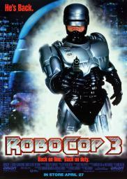 Random Movie Pick - RoboCop 3 1993 Poster