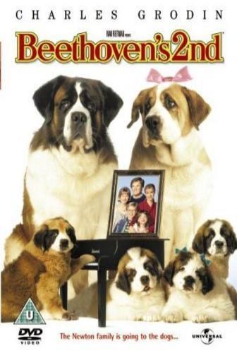 Random Movie Pick - Beethoven's 2nd 1993 Poster