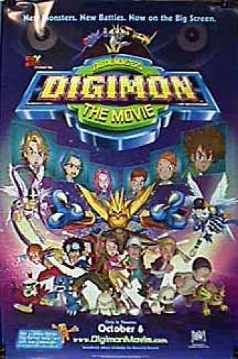 Random Movie Pick - Digimon: The Movie 2000 Poster