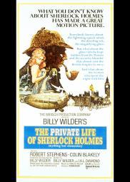 Random Movie Pick - The Private Life of Sherlock Holmes 1970 Poster