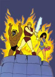 Random Movie Pick - Thundarr the Barbarian 1980 Poster