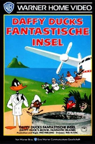 Random Movie Pick - Daffy Duck's Movie: Fantastic Island 1983 Poster
