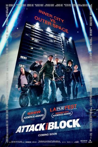 Random Movie Pick - Attack the Block 2011 Poster