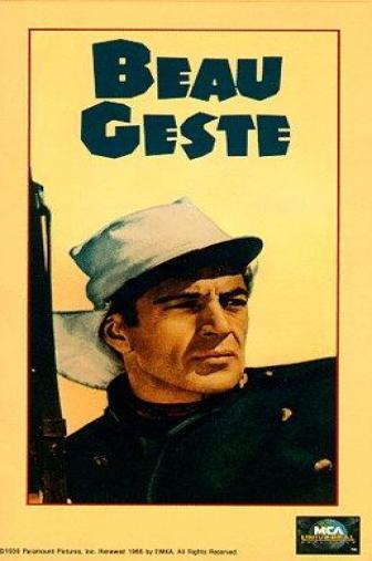 Random Movie Pick - Beau Geste 1939 Poster