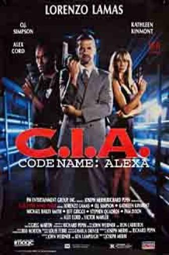 Random Movie Pick - CIA Code Name: Alexa 1992 Poster