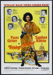 Random Movie Pick - Friday Foster 1975 Poster