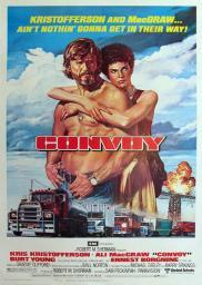 Random Movie Pick - Convoy 1978 Poster