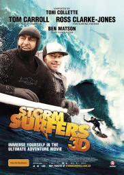 Random Movie Pick - Storm Surfers 3D 2012 Poster